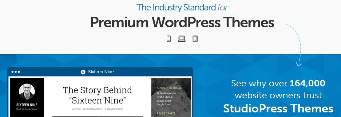 Gde kupiti premium temu za WordPress - StudioPress