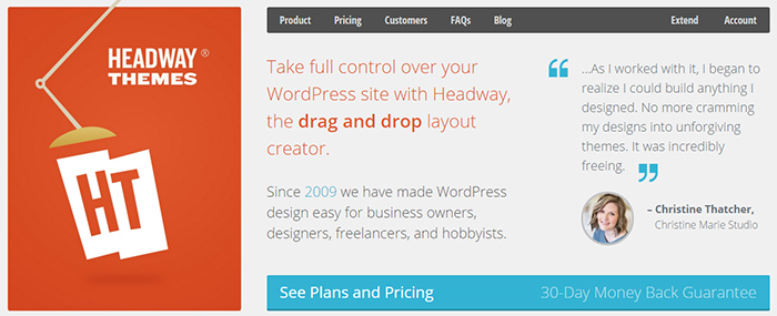 Wordpress-drag-and-drop-bilderi-Headway