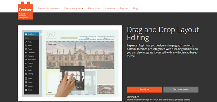 Wordpress-drag-and-drop-bilderi-Layouts