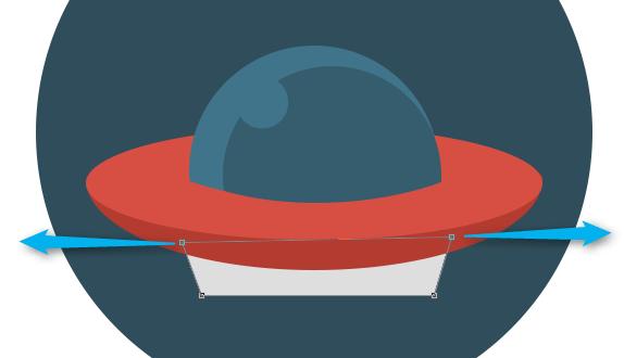 Флат иконица НЛО - Адриахост блог слика 13