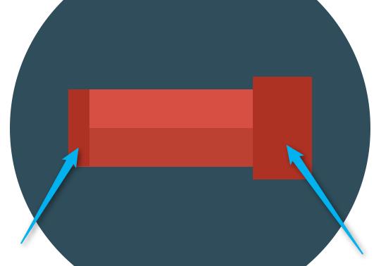 Флат иконица - Телескоп на троносцу слика 3