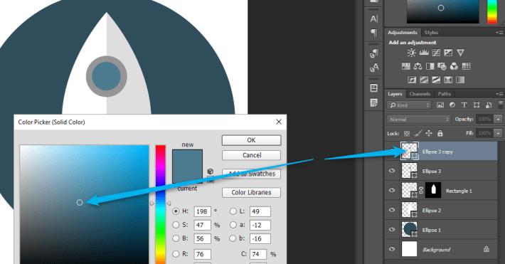 Izrada Flat ikonica u Photoshopu slika 18