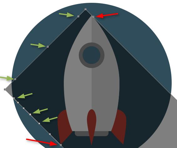 Izrada Flat ikonica u Photoshopu slika 33