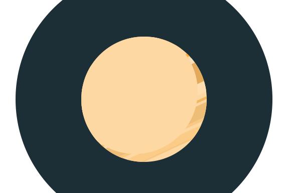 Photoshop - Flat ikonica rakete slika 10