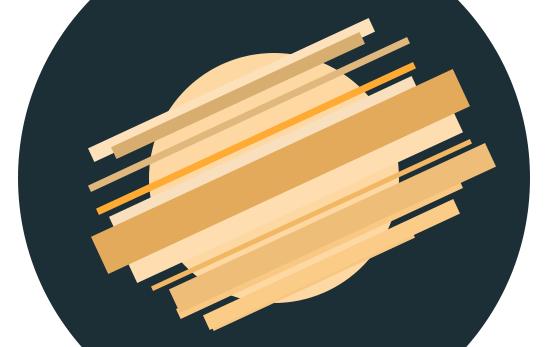 Photoshop - Flat ikonica rakete slika 5