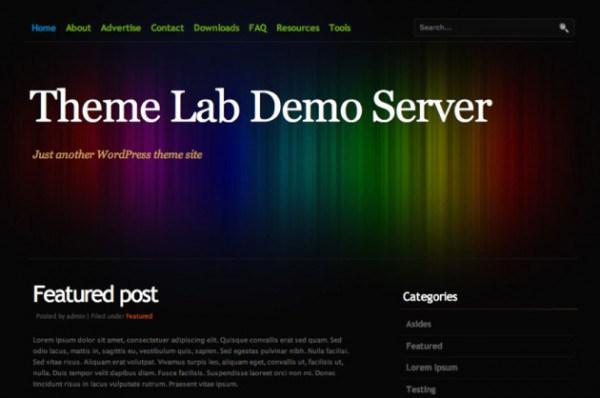 Colourise WordPress theme