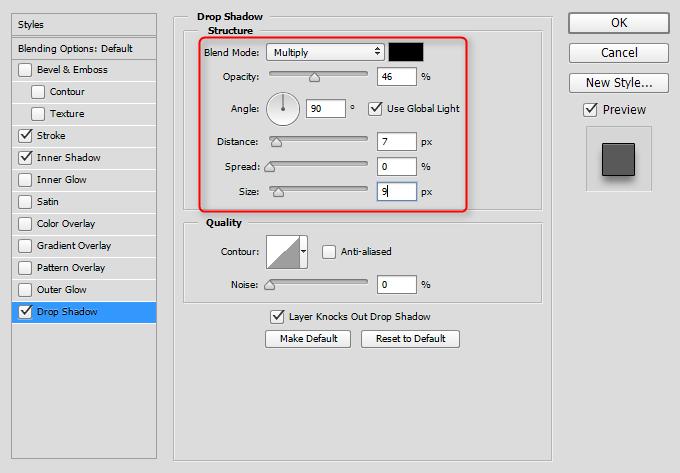 Kako napraviti cenovnik u Photoshop slika 51