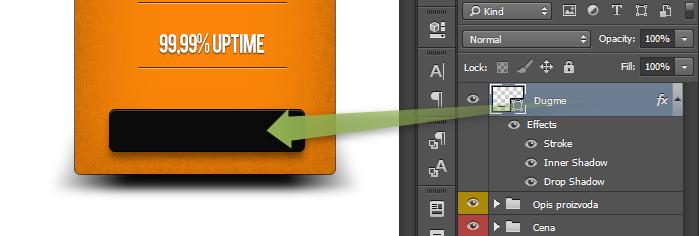 Kako napraviti cenovnik u Photoshop slika 52
