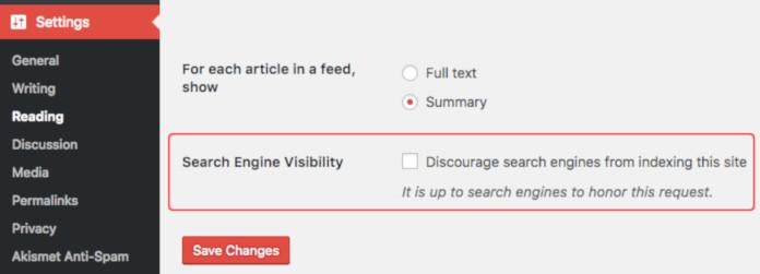 wordpress vidljivost na google