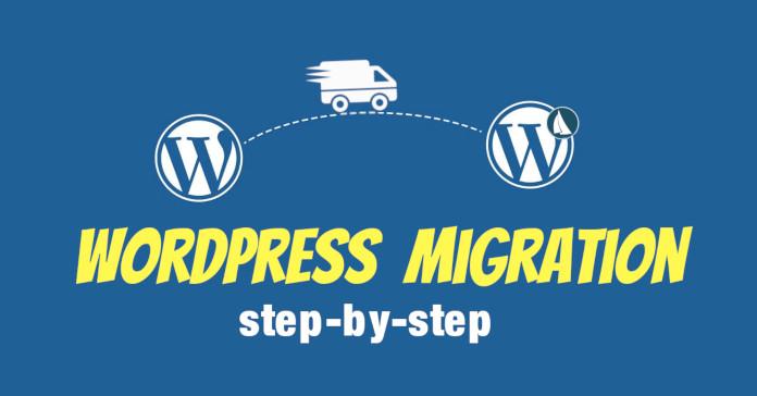 wordpress migration step by step