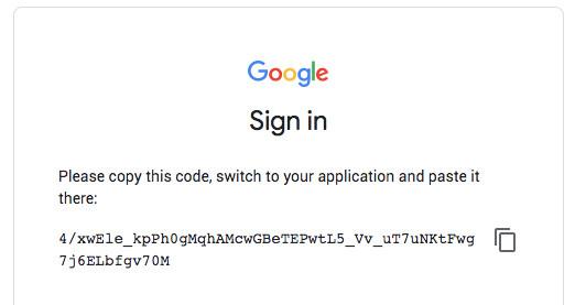 google registracija