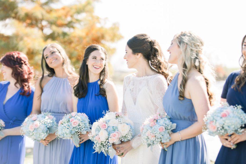 Wedding Photos on Film by Adria Lea Photography Dallas Wedding Photographer | bridesmaid photos