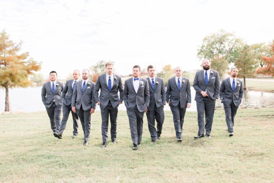 Wedding Photos on Film by Adria Lea Photography Dallas Wedding Photographer | groomsmen photos