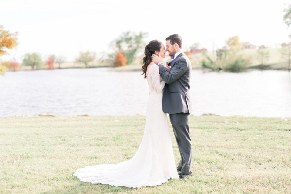 Wedding Photos on Film by Adria Lea Photography Dallas Wedding Photographer | bride and groom