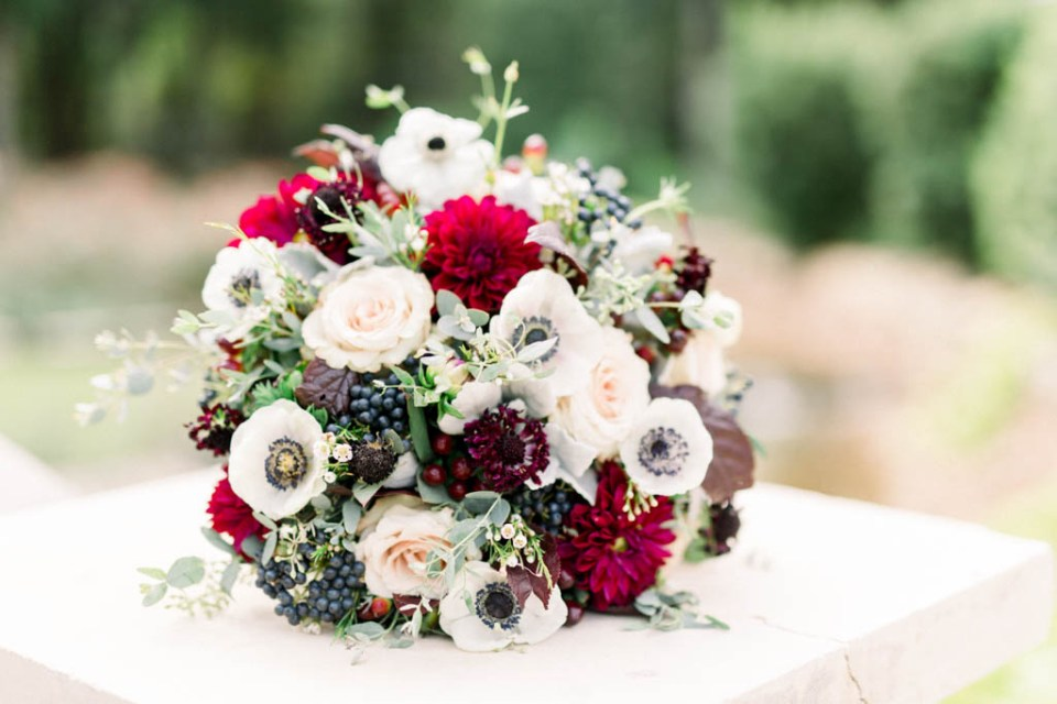 Bridal bouquet by Dallas florist Wild Rose Events, photographed by Dallas wedding photographer Adria Lea Photography