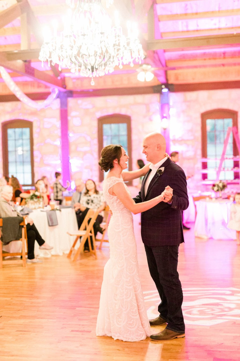 Shelby and Austin wedding by Adria Lea Photography at The Springs wedding venue