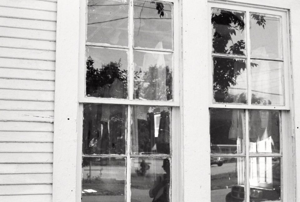 Dallas Photographer Adria Lea Photography black and white film photography, windows