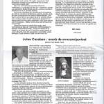 Jules Cazaban: seară de evocare/portret