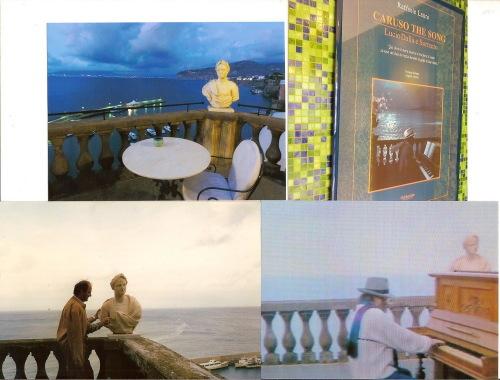 Cu Lucio Dalla, pe terasa hotelului, din 1987 pâna azi!
