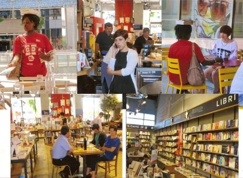 Librărie/restaurant/salon de lectură la Porta Nuova