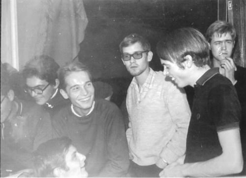 En admiration devant mes idoles, en 1968