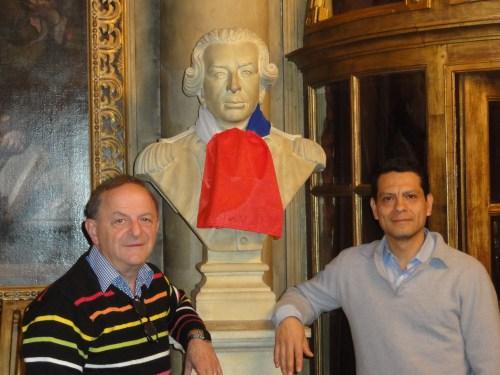 Adrian Irvin ROZEI et Inti SERRANO en novembre 2015