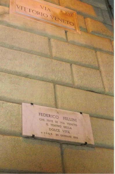 Via Veneto placa Fellini 001