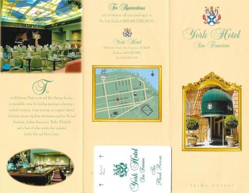 Hotelul York în 2002