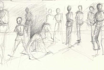 gesture drawing sketchbook