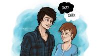 Augustus y Hazel - Bajo la misma estrella