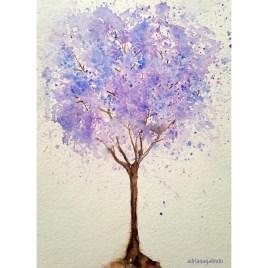 Jacarandá Mimoso, tree 13, 21×15 cm. Available
