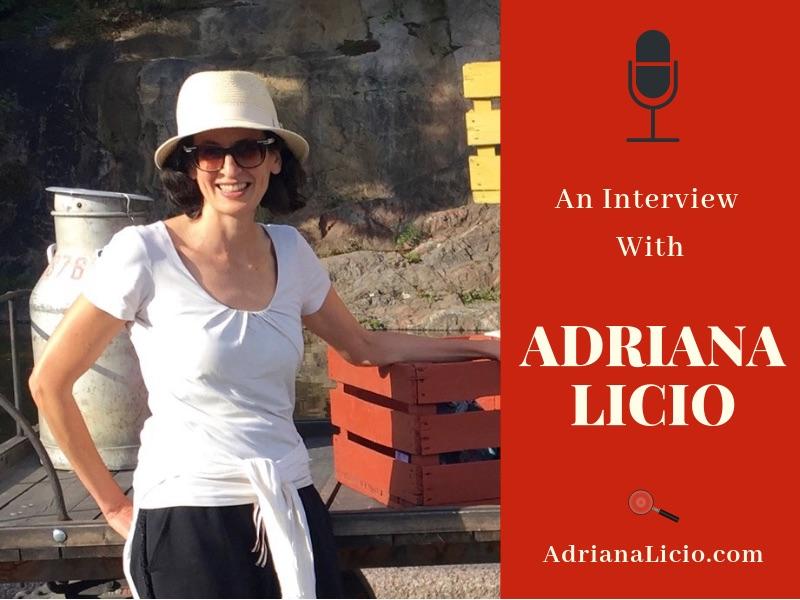 An Interview with Adriana Licio by Giò Brando - Italian Cozy Mysteries
