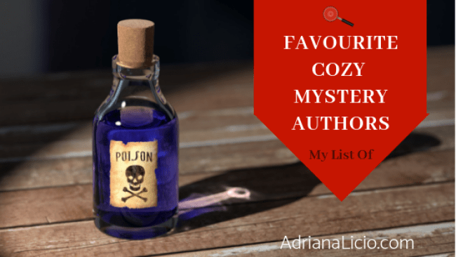 A List of Favourite Cozy Mystery Authors