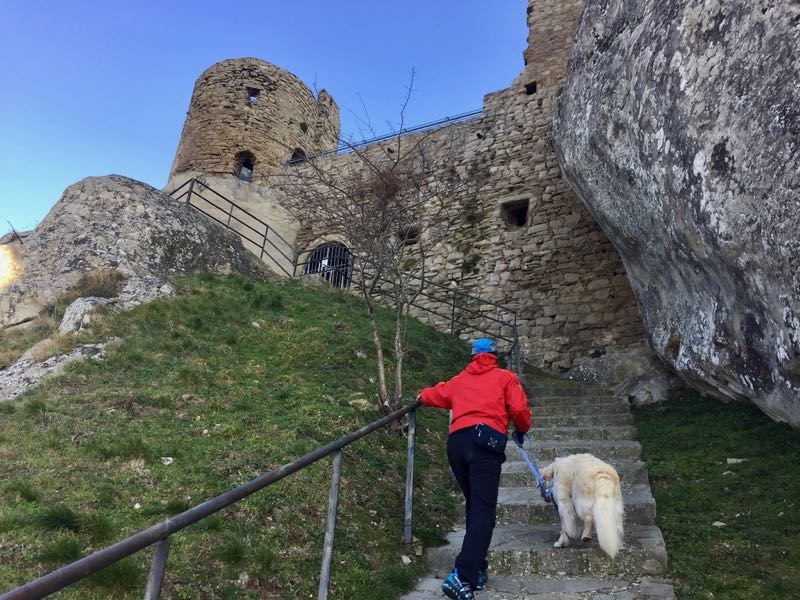 Things to do in Castelmezzano Basilicata Climb to the Pietrapertosa Castle Adriana Licio