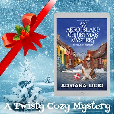 An Aero Island Cozy Mystery Adriana Licio Books set in Denmark