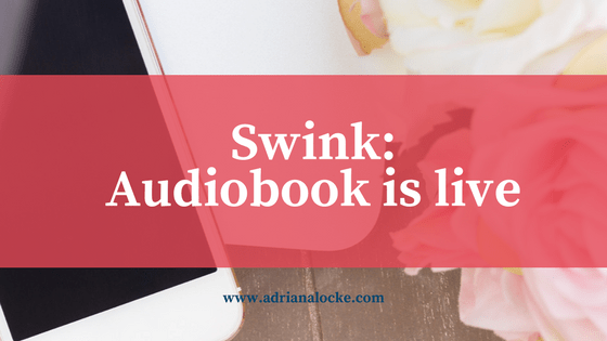 Swink is on Audible