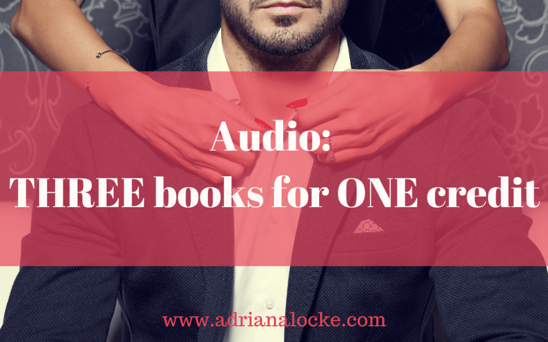 Audio: THREE books for ONE credit