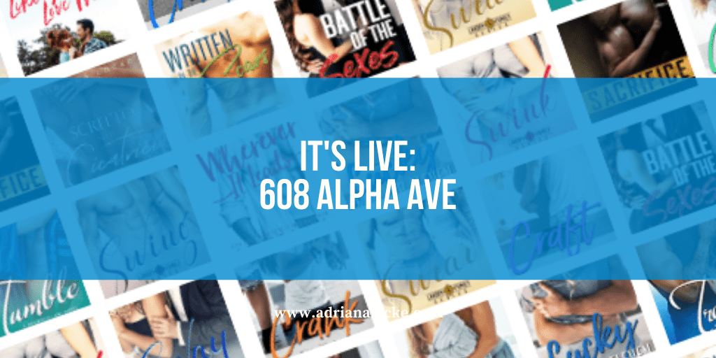 It's Live: 608 Alpha Ave