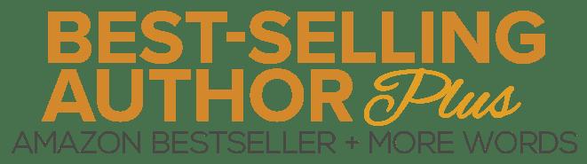 Amazon Best-Selling Author Logo - PLUS BUY BUTTON WEB