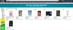 Amazon Hot new releases Browser screenshot
