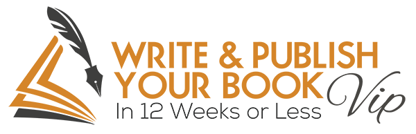 Write & Publish Your Book in 12 Weeks or Less Icon VIP Logo WEB