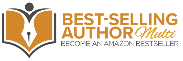 Amazon Best-Selling Author Logo - MULTI WEB