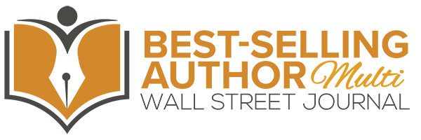 Wall Street Journal Best-Selling Author Logo - MULTI WEB