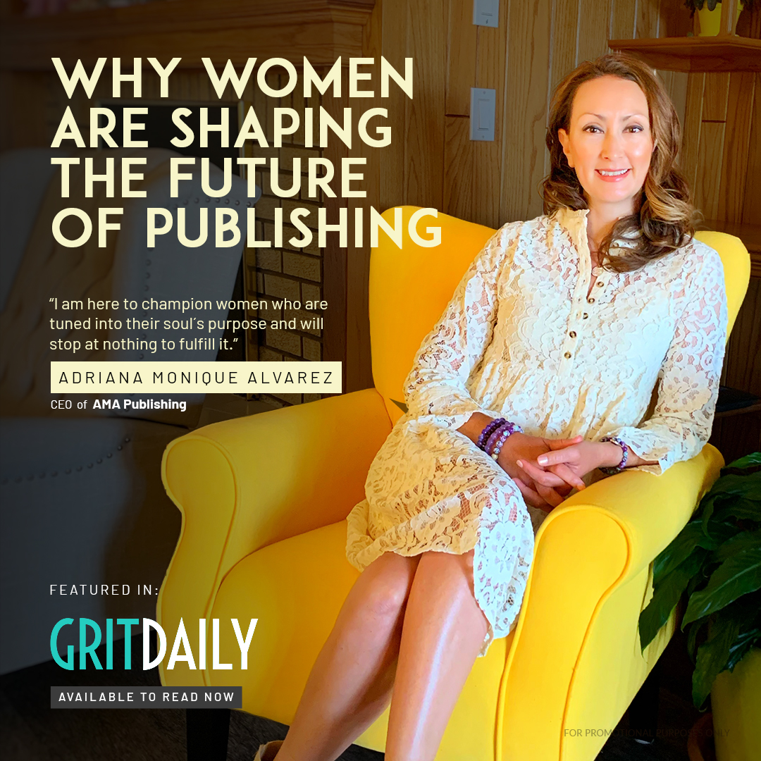 Why women are shaping the future of publishing as featured in Gritdaily