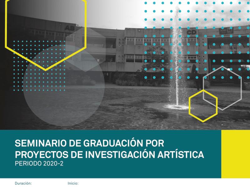 Seminario de graduación por proyectos de investigación artística