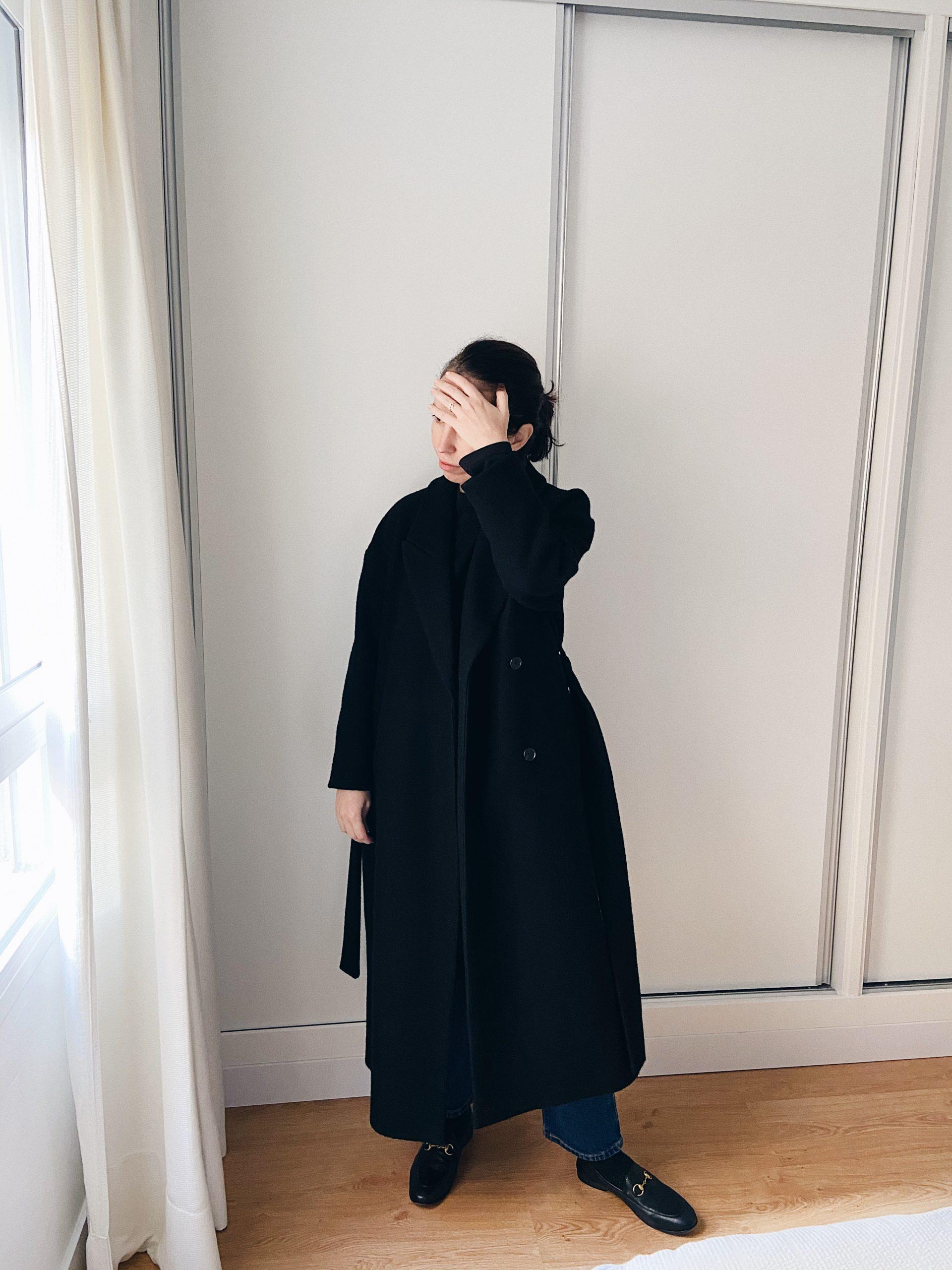 abrigo para el frio de cos