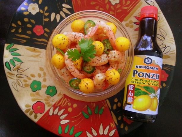 Ceviche with Kikkoman Ponzu Lime Sauce