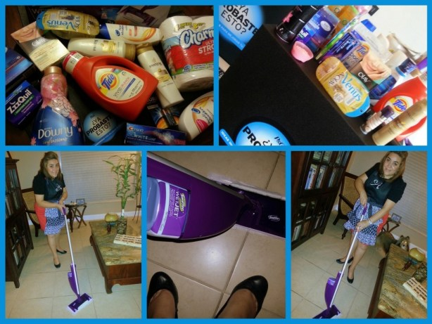 Hassle free cleaning with Swiffer Wet-Jet
