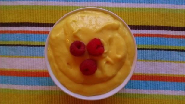 Mango Cream Dessert