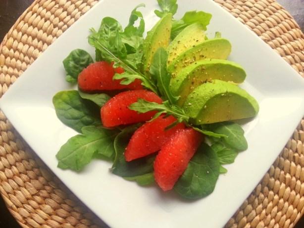 Avocado Grapefruit Salad #ILoveAvocados